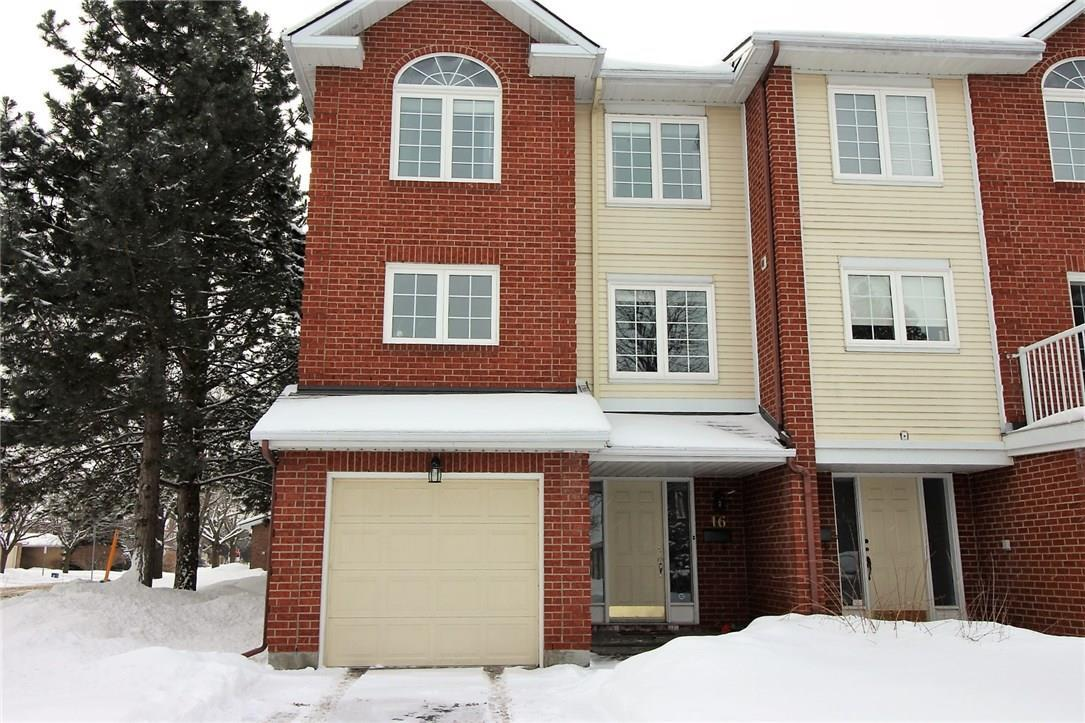 16 Wrenwood Crescent, Ottawa, Ontario K2G5V4