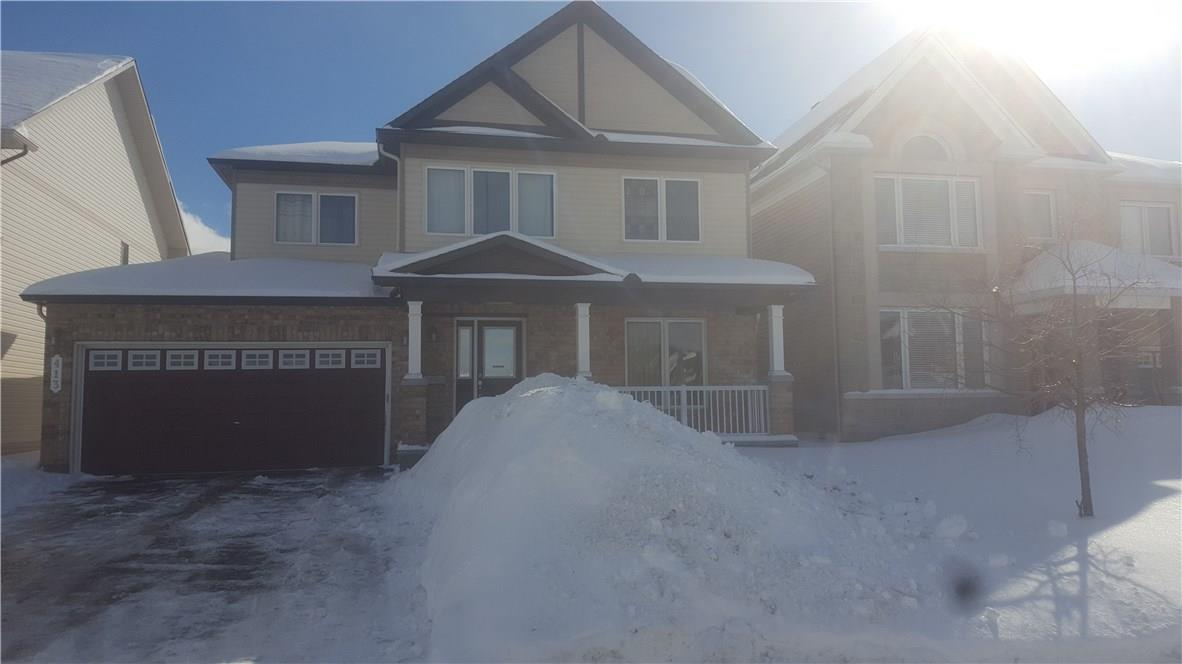 413 Boisdale Walk, Ottawa, Ontario K4A0R5