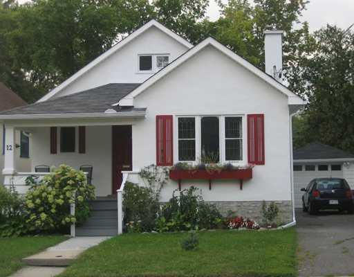 12 Burnham Road, Ottawa, Ontario K1S0J8