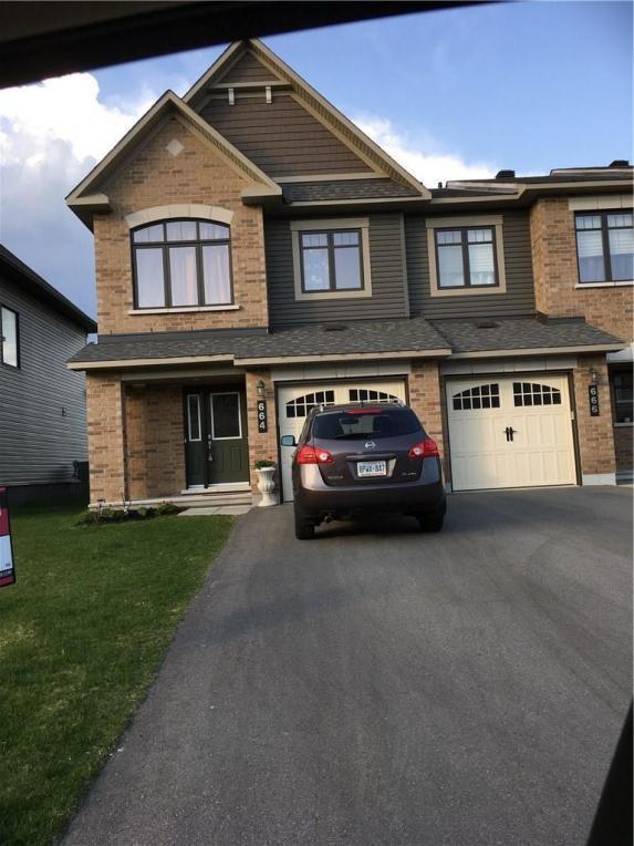 664 Petrichor Crescent, Ottawa, Ontario K4A0T3