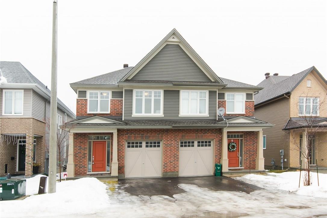 915 Bunchberry Way, Ottawa, Ontario K1T3T8