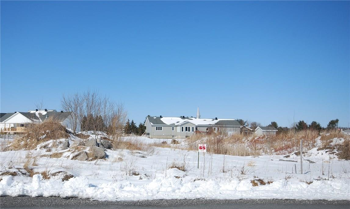 Lot 65 Des Tulipes Street, Clarence-rockland, Ontario K0A2A0