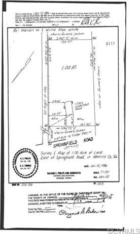 5225 Springfield Road, Henrico, VA 23060