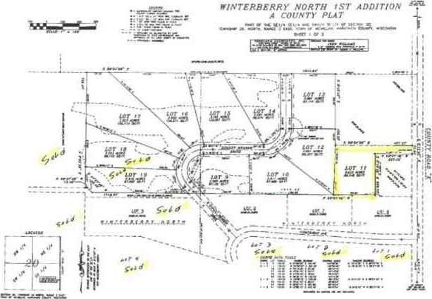 Lot 11 County Road E Winterberry North, Marshfield, WI 54449