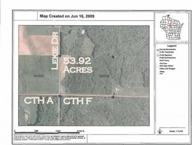 County Road F, Athens, WI 54411