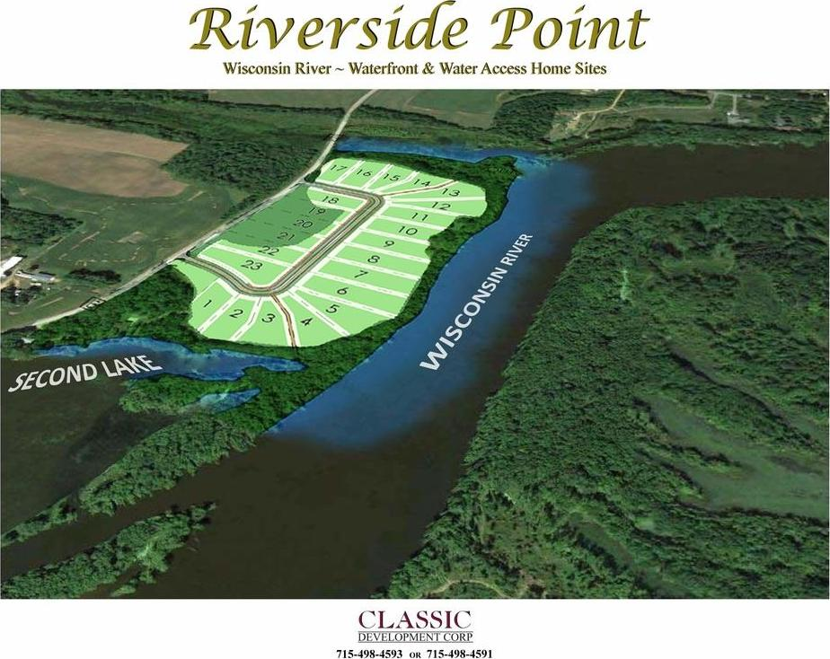 Lot 4 Riverside Point Subdivision, Junction City, WI 54443
