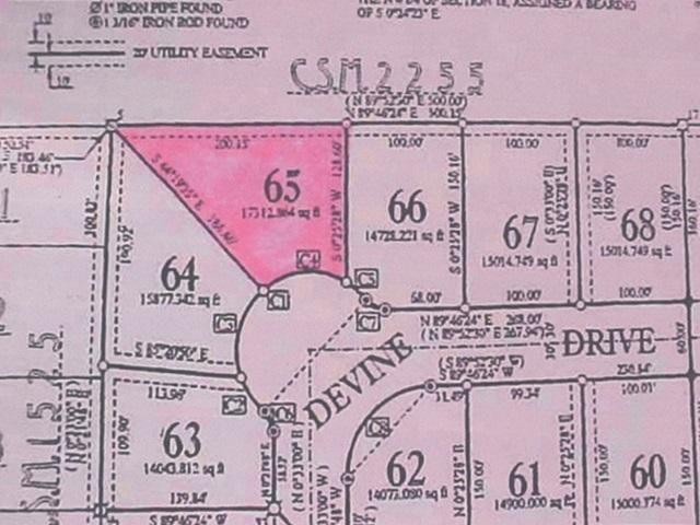 Lot 65 Devine Drive Parcel Number 3307141, Marshfield, WI 54449