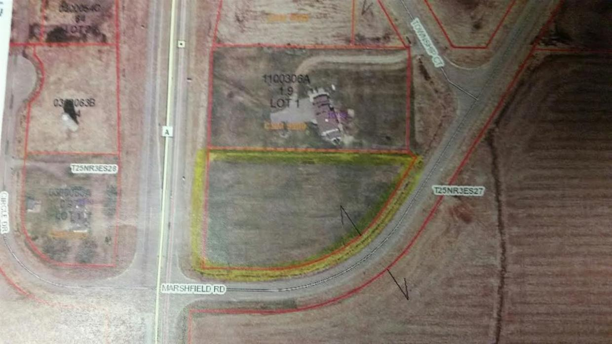Lot 3 County Road A, Marshfield, WI 54449
