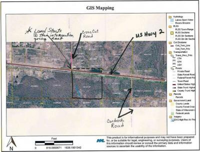 Photo of 33.7 Acres Highway 2, Florence, WI 54121