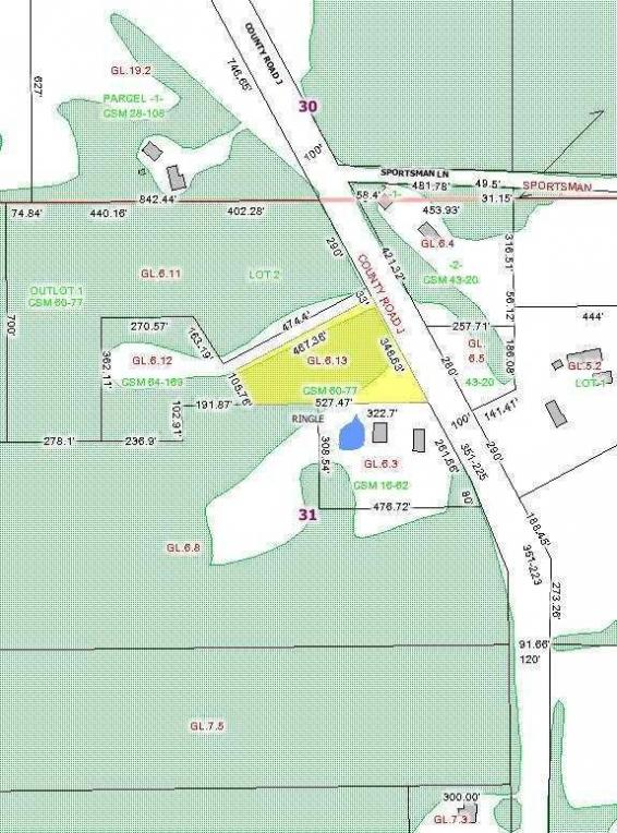 MLS #1707625 - Lot 2 County Road J, Ringle, WI 54476