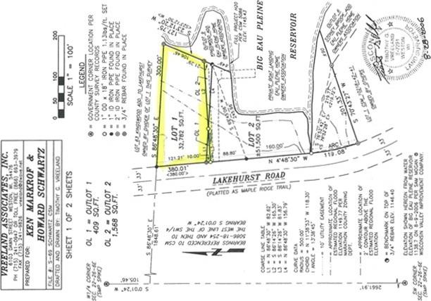 Lot 62 Lakehurst Road, Mosinee, WI 54455