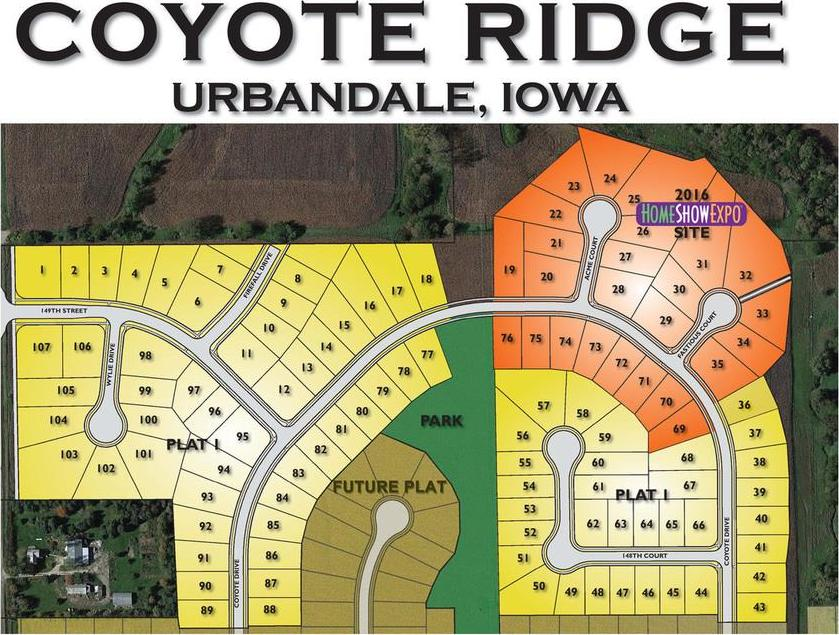 Lot 70 Coyote Ridge Plat 1 Street, Urbandale, IA 50323
