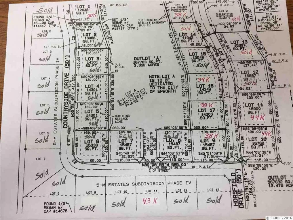Lot 11 Countryside Dr, Epworth, IA 52045