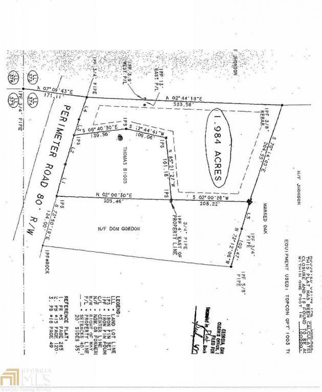 Perimeter Rd, Dawsonville, GA 30534