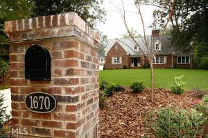 1670 NE Ridgewood Dr, Atlanta, GA 30307