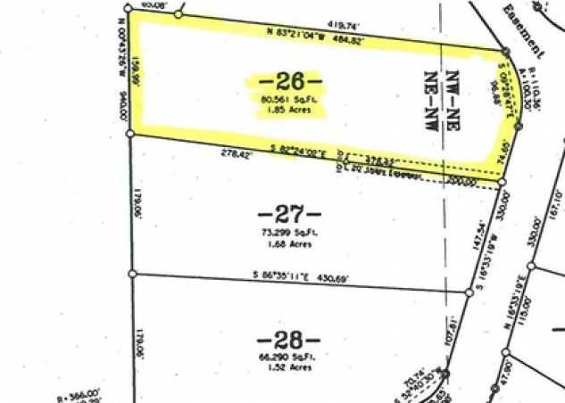ON Doe Tr #Lot 26, Eagle River, WI 54521