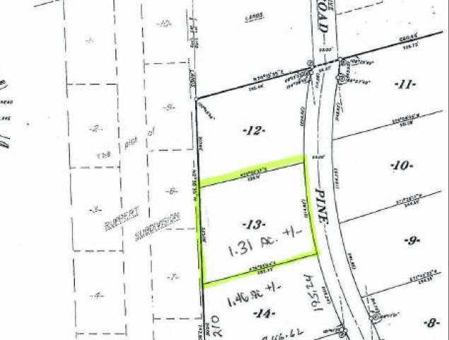 Off Pine Cone Dr #Lot 13, Woodruff, WI 54568