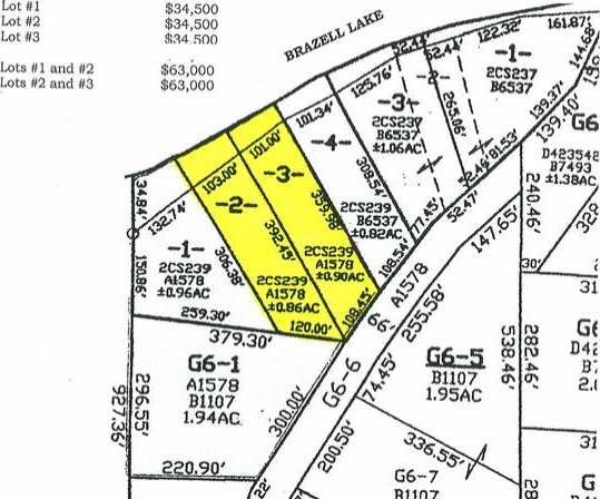 Lots 2&3 Bulleseye Ln, Eagle River, WI 54521