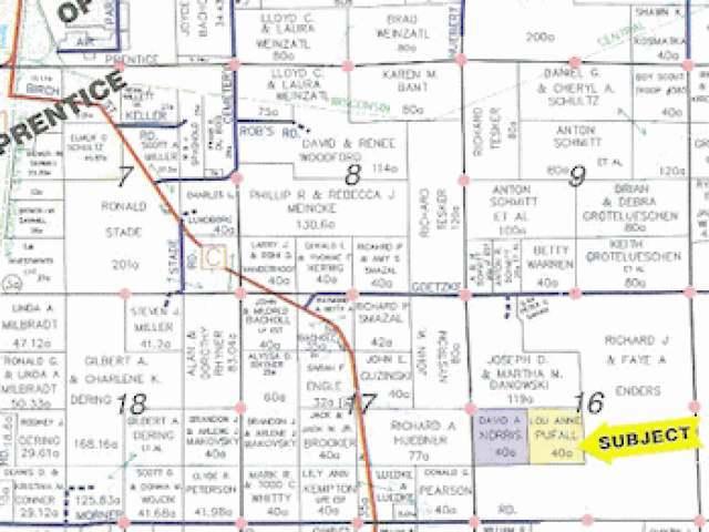 NEAR No Road Access, Prentice, WI 54556