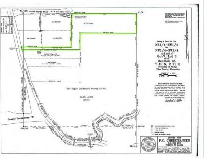 Photo of Lot 3 Sugar Maple Rd #4.7 Acres, Phelps, WI 54554