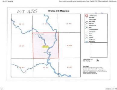 MI455 on Price County Rd, Minocqua, WI 54548