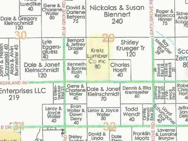 ON Highland Ave #80 Acres, Corning, WI 54451