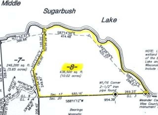 Lot 8 Muskesin Easement Rd, Lac Du Flambeau, WI 54538