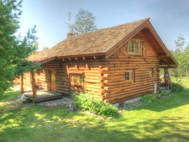 Price Reduction on Conover Full-Log Home on 18 acres, now $184,900!