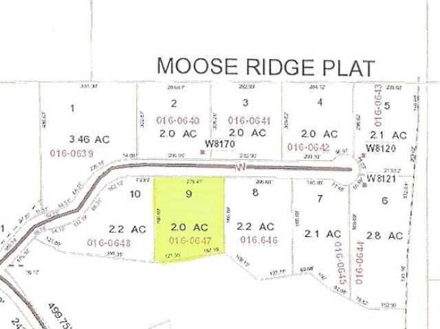 Lot 9 Moose Ridge Dr, Antigo, WI 54409