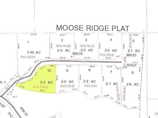 Lot 10 Moose Ridge Dr, Antigo, WI 54409