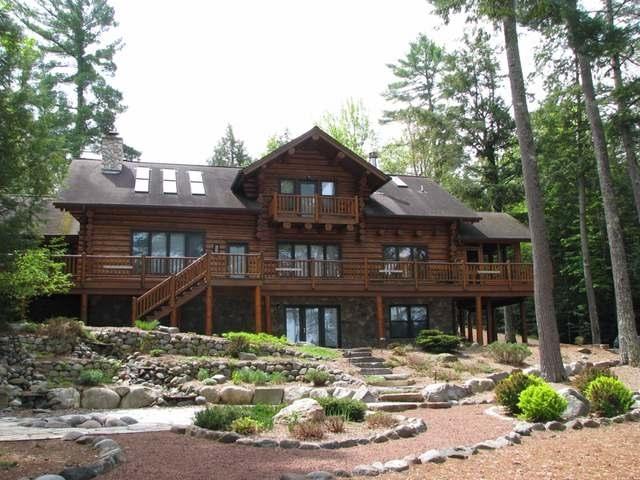 Log Cabin Home - 7969 Four Mile Lake Road, Three Lakes WI 54562