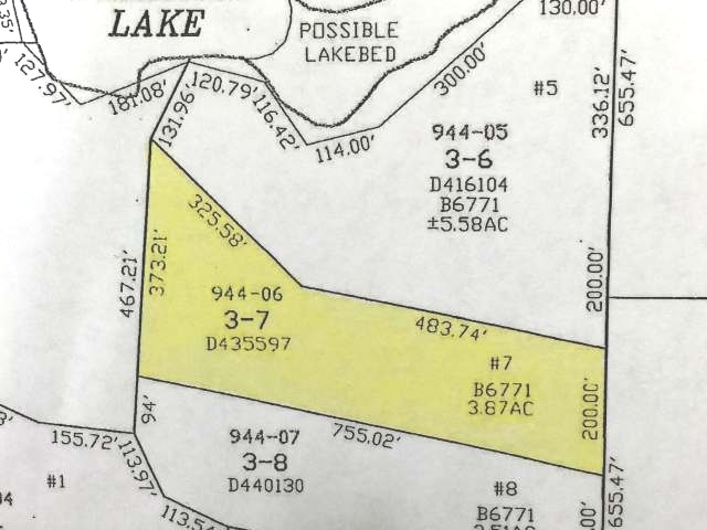 Lot # 7 Lake Laura Rd E, Star Lake, WI 54560