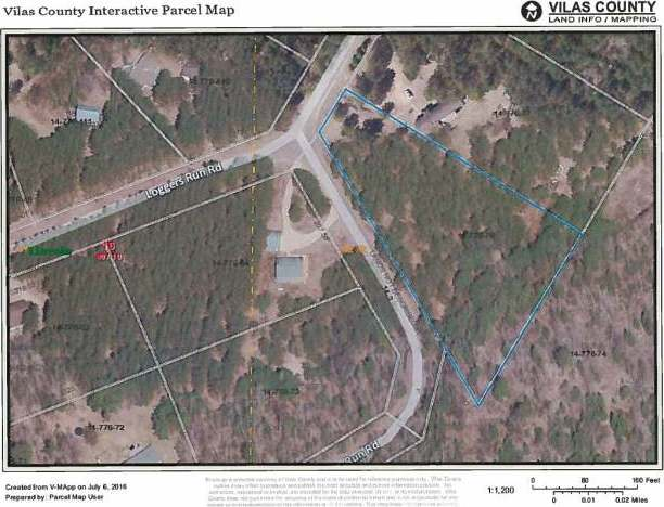 Lot 26 Loggers Run Rd, Eagle River, WI 54521
