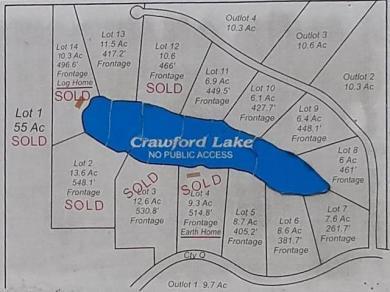 Lot #7 Crawford Lake Rd, Nashville, WI 54465