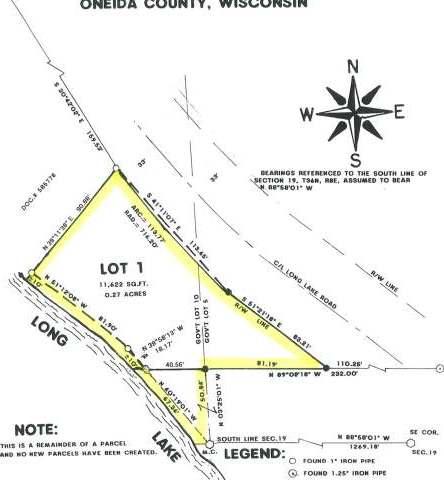 Lot 1 Long Lake Rd, Rhinelander, WI 54501