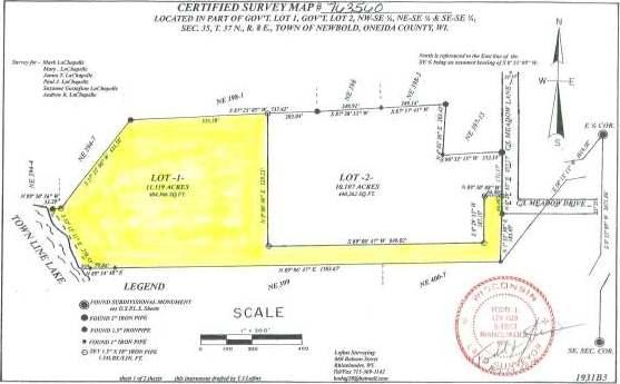 Lot 1 Meadow Ln, Rhinelander, WI 54501