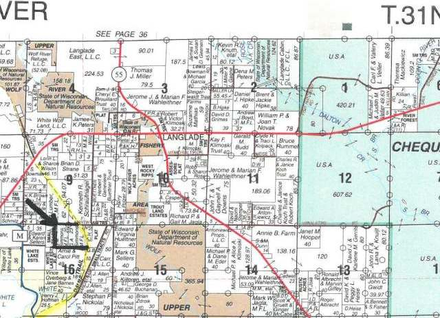 ON Red Pine Dr #43.5 Acres, White Lake, WI 54491