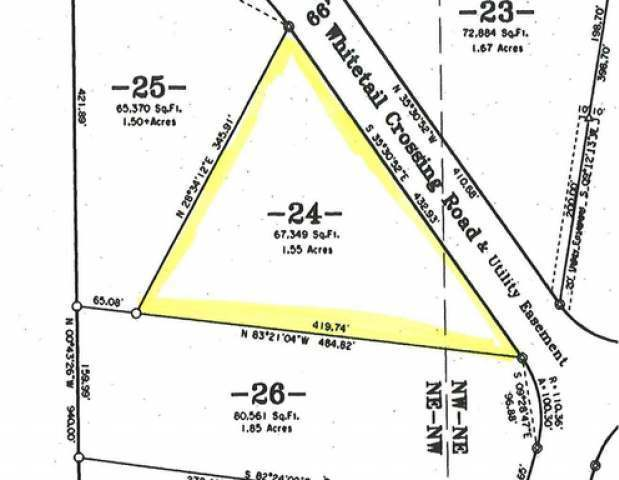 ON Whitetail Crossing Rd #Lot 24, Eagle River, WI 54521