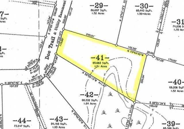 ON Doe Tr #Lot 41, Eagle River, WI 54521