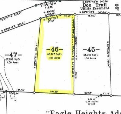 Photo of ON Doe Tr #Lot 46, Eagle River, WI 54521