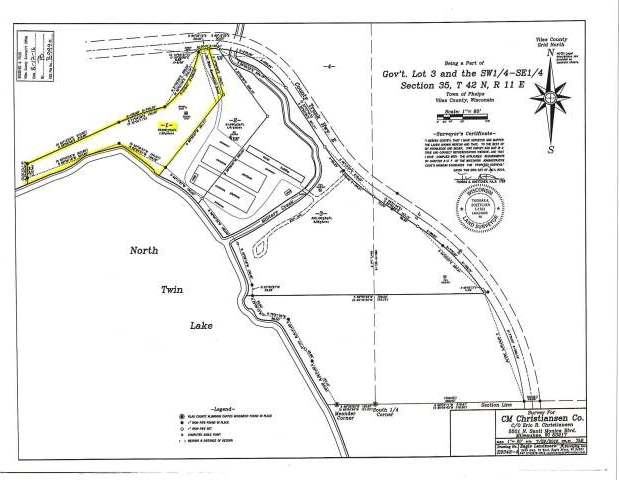 ON Cth E #Parcel 1, Phelps, WI 54554