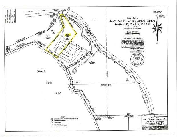ON Cth E #Parcel 2, Phelps, WI 54554