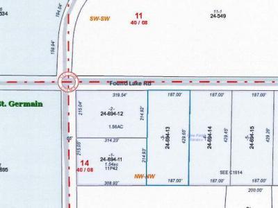 Lot 3 Found Lake Rd, St Germain, WI 54558