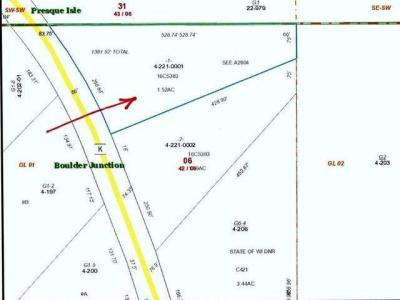 Photo of ON Cth K #Lot 1, Boulder Junction Wi, WI 54512