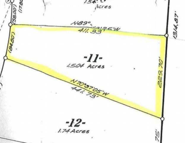 Lot 11 Woodland Dr, Star Lake, WI 54561