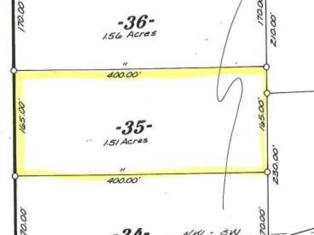 Lot 35 Deer Foot Rd, Star Lake, WI 54561