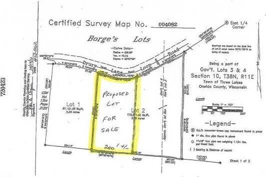 ON Drury Lane Loop, Three Lakes, WI 54562