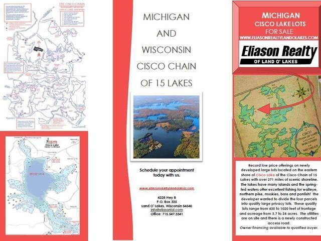 Lot 3 Cisco Lake Rd E, Watersmeet, MI 49969