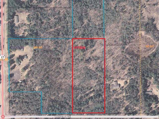 Lot 3 Columbus Rd #1254, Conover, WI 54519