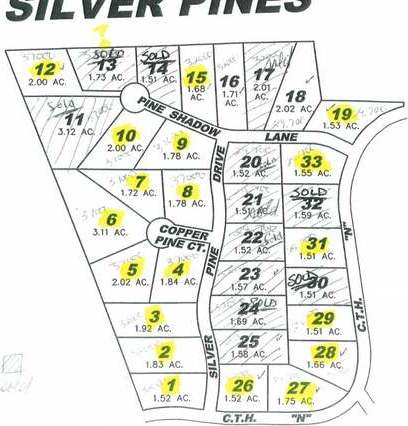 Lot 3 Silver Pine Dr, Rhinelander, WI 54501
